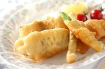 白身魚のサクサクフリット