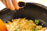 卵のシンプルチャーハンの作り方5