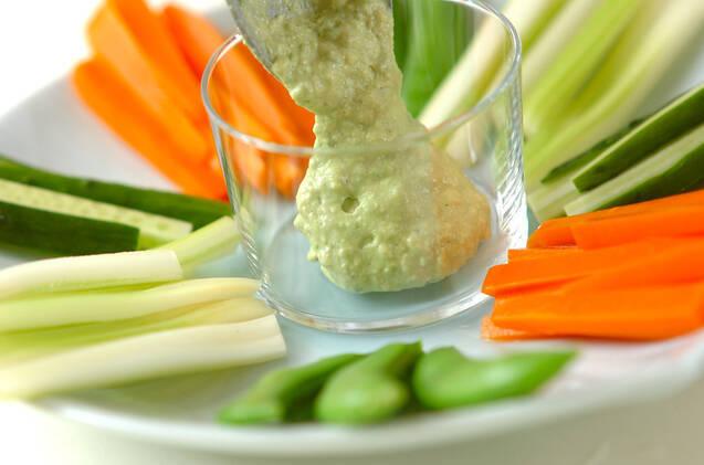 野菜スティック&ディップの作り方の手順3