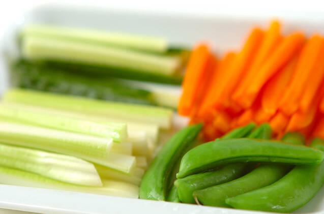 野菜スティック&ディップの作り方の手順1