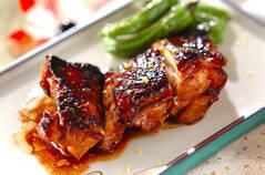 鶏肉のユズ風味照り焼き