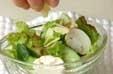 野菜サラダの作り方2