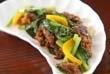 小松菜のソース炒め