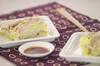 豚肉と白菜の重ね蒸しの作り方の手順