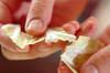 アサリと白菜の和風チャウダーの作り方の手順1