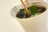 シンプルワカメスープの作り方3