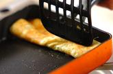 納豆のだし巻き卵の作り方3