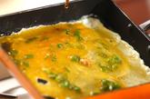 納豆のだし巻き卵の作り方2