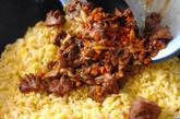 鶏レバー麦ご飯チャーハンの作り方4