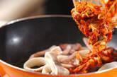 イカキムチ炒めの作り方3