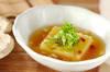 卵豆腐のショウガあんかけの作り方の手順