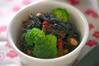 芽ヒジキの五目煮の作り方の手順
