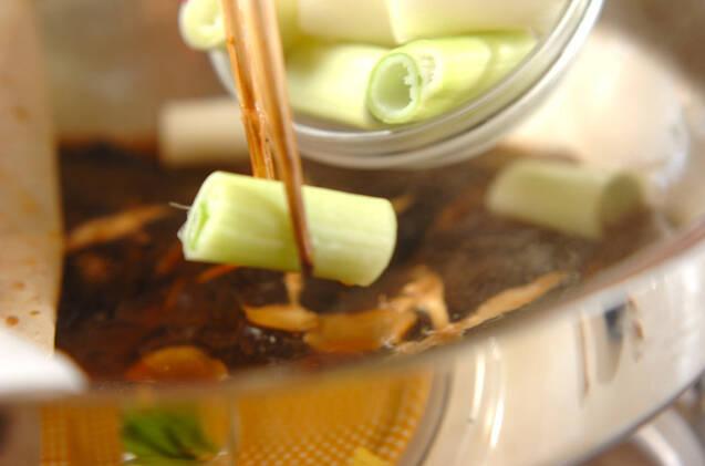 カレイの照り煮の作り方の手順5