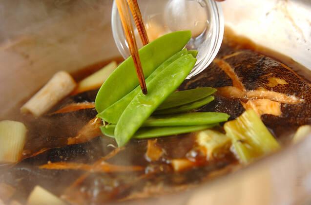 カレイの照り煮の作り方の手順6