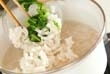 大麦とかぶのお粥の作り方2