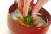 大根とシイタケのスープの作り方5