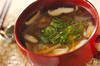大根とシイタケのスープ