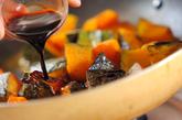 カボチャのバルサミコソテーの作り方2