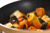 カボチャのバルサミコソテーの作り方1