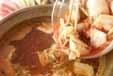 豚キムチのあったか鍋の作り方2