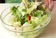 レタスの海苔サラダの作り方1