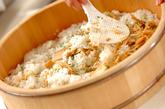 タケノコの混ぜずしの作り方1
