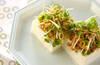 薬味肉豆腐の作り方の手順