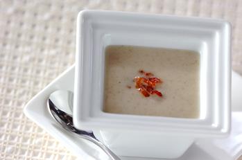 ゴボウの冷製クリームスープ