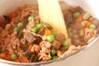 豚肉入り五目豆の作り方の手順9