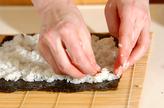ベジ・ヘルシーコリアン寿司の作り方3