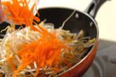 豚肉入りモヤシの山椒炒めの作り方4