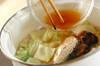 イワシ缶でみそ汁の作り方の手順4