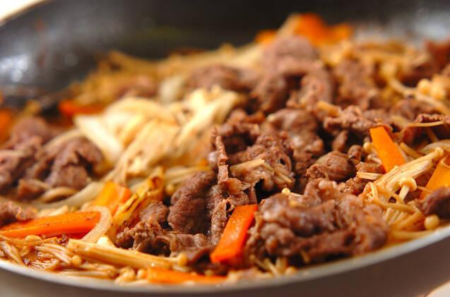 甘辛牛丼の作り方の手順6