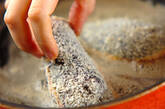 ジューシー!まるごとナスの肉挟み揚げの作り方7