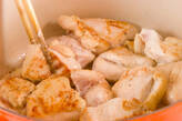 あっさりおいしい鶏むね肉と白菜のクリーム煮の作り方6