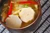 エビ芋のみそ汁の作り方の手順
