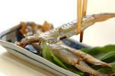 揚げシシャモの甘酢漬けの作り方3