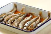 揚げシシャモの甘酢漬けの作り方4