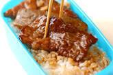 ソース牛丼の作り方3
