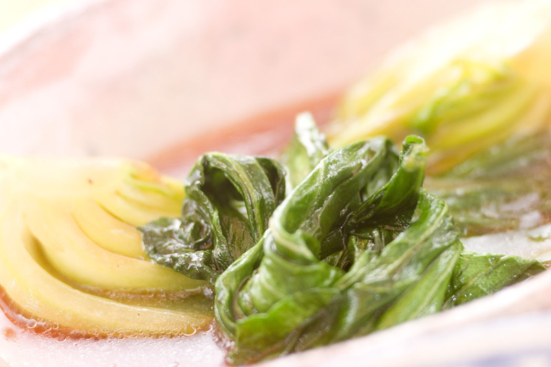 5. チンゲン菜の炒め煮