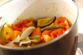 野菜たっぷりカポナータの作り方9