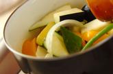 野菜たっぷりカポナータの作り方1