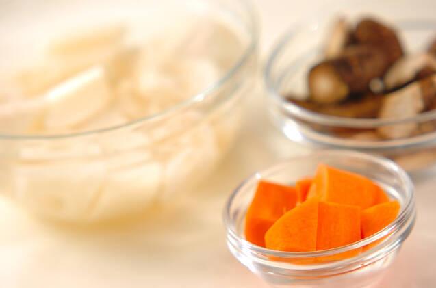 豚肉と根菜のきんぴらの作り方の手順3