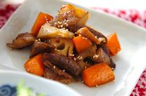 豚肉と根菜のきんぴら