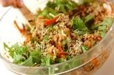 鶏ゴボウご飯の作り方3