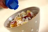 もちもちサツマイモご飯の作り方5