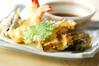 天ぷらの作り方の手順