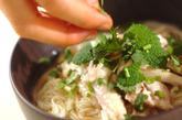 アジアン鶏煮麺の作り方3