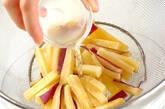 サツマイモのゴママヨ和えの作り方3