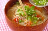 素麺のかきたま汁の作り方4